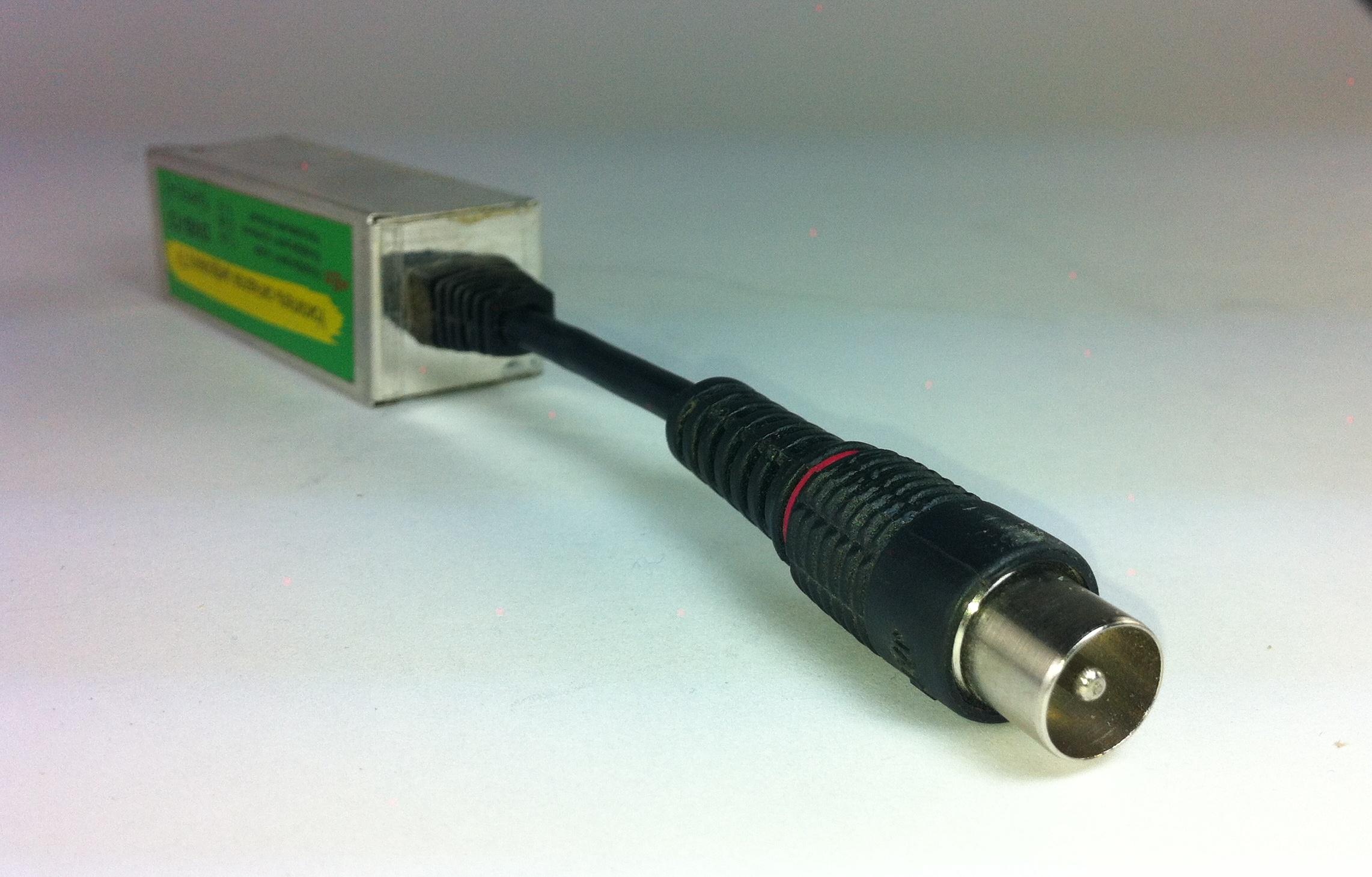 Как усилить кабельный тв сигнал своими руками