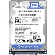 500Gb WD Scorpio Blue 8Mb (WD5000BPVT) 5400rpm